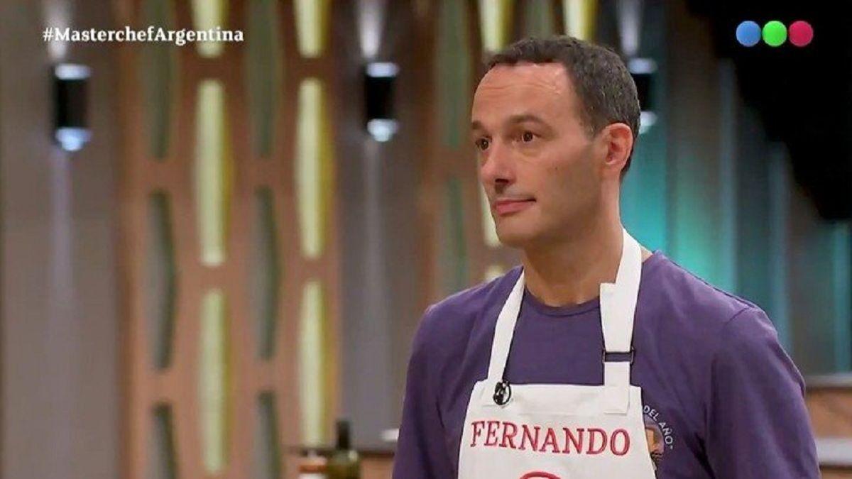 Germán Martitegui estalló contra Fernando Carlos en Masterchef Celebrity