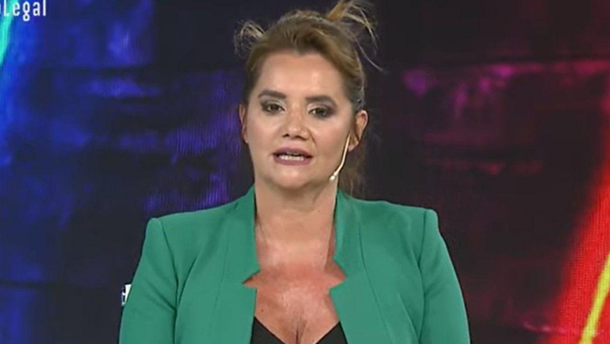 Nancy Pazos enfrentó las críticas que recibió tras dar por muerto a Carlos Menem
