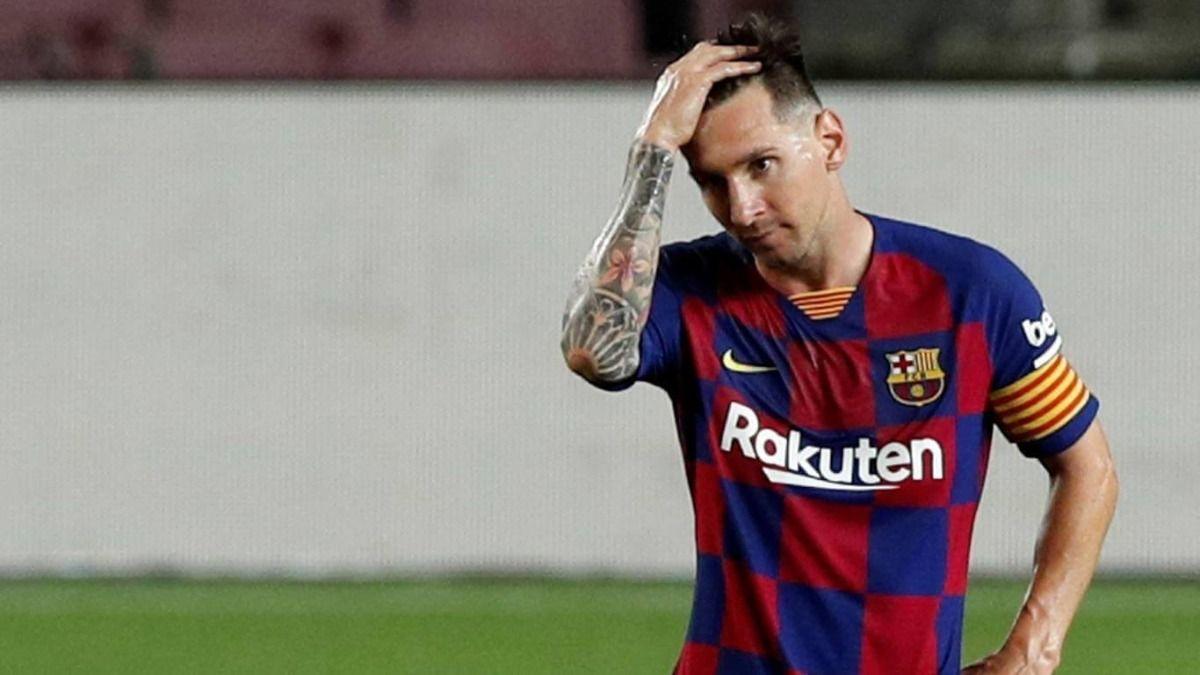 El delantero argentino Lionel Messi ha tenido últimamente una relación dificil con el Barcelona FC