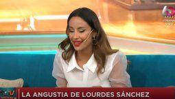 ¡Al borde del llanto! Lourdes Sánchez se refirió a la icardeada de Laurita Fernández con el Chato Prada