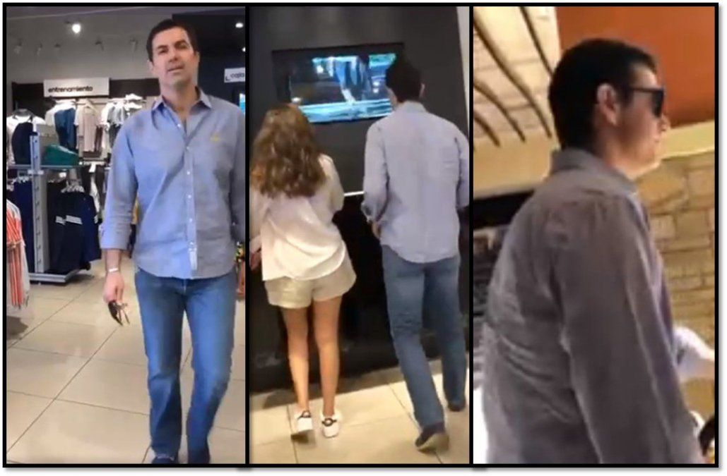 Isabel Macedo increpó a una persona que escrachó a su esposo Juan Manuel Urtubey por un crimen en Salta