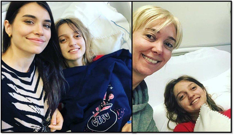 La foto de Eva De Dominici y la hija de Marisa Brel desde su internación