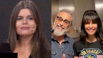 Dura definición de Angie Balbiani sobre el rumor que la vinculó con Jorge Rial