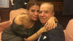 El mensaje de Zulemita Menem a una semana de la muerte de su padre