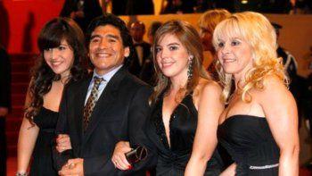 La última foto de Diego Maradona y Claudia Villafañe
