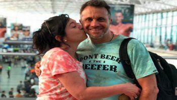 El emotivo mensaje de la esposa de Sergio Lapegüe después de ser tratado con plasma