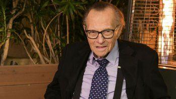 ¡Ya no más! Murió Larry King, leyenda de la TV de EE.UU.