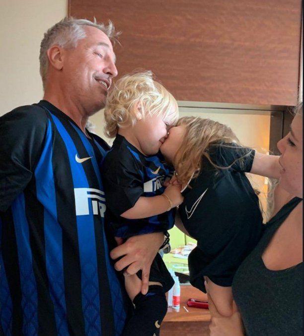 Duras críticas en las redes por el beso de Isabella y Mirko, los hijos de Wanda Nara y Marley