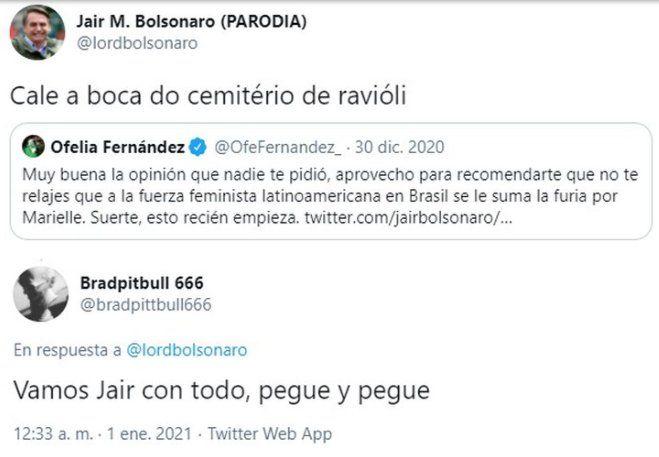 Este es uno de los polémicos mensajes de Twitter que contestó Andrés Calamaro