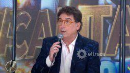 Oscar Mediavillo le puso los puntos al locutor del Cantando