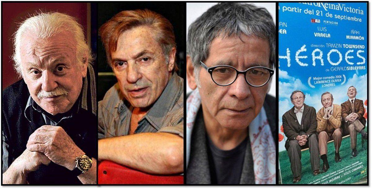 Pepe Soriano, Antonio Grimau y Patricio Contreras, trío para el verano marplatense