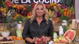 Carina Zampini, actriz y conductora de El Gran Premio de la Cocina