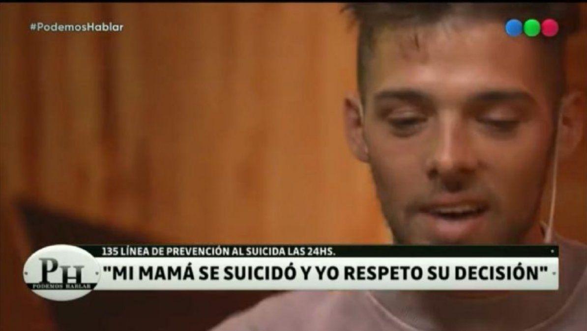 Santi Maratea se abrió y habló sobre el suicidio de su mamá: Algún día lo voy a entender