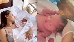 Pampita registró el nacimiento de Ana para su reality de Paramount+