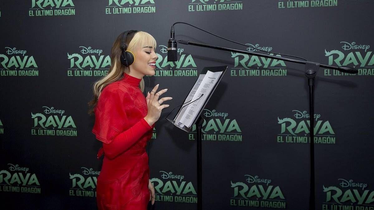 ¡Contenta! Danna Paola sobre Raya: Fue un sueño hecho realidad