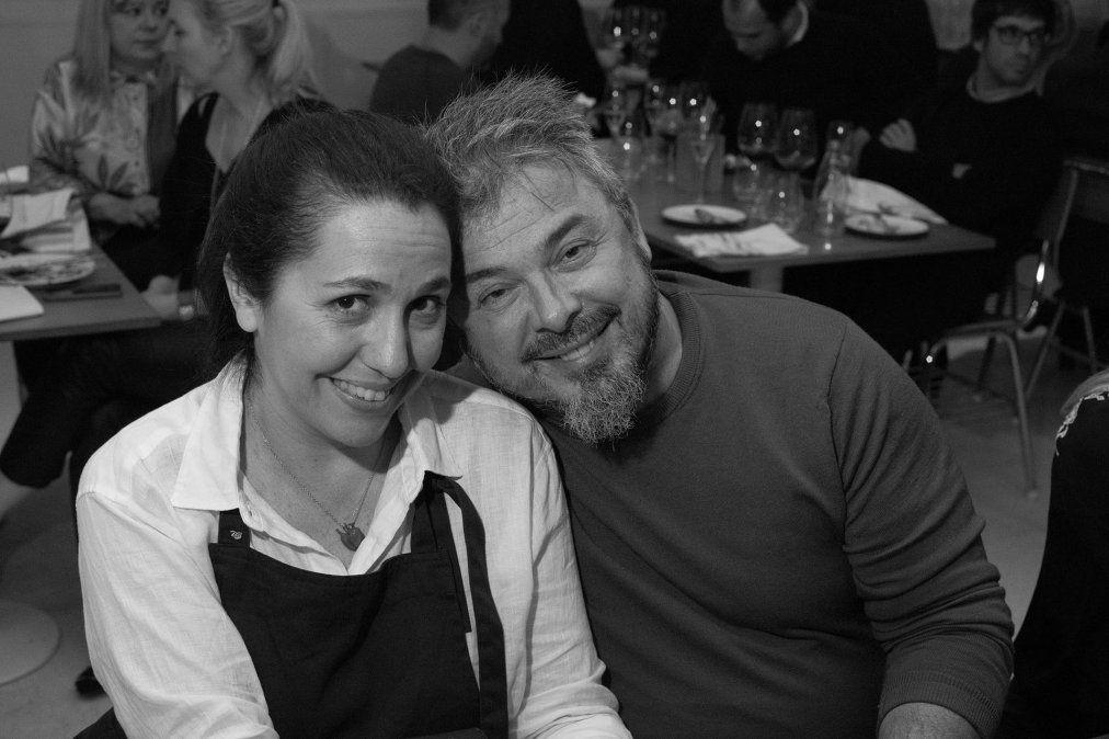 Narda Lepes y Donato de Santis forman parte del programa Chef a domicilio