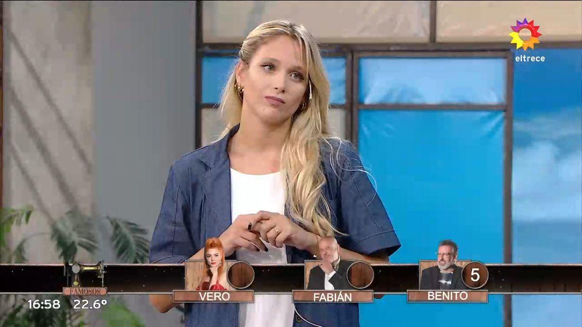 Tené piedad La súplica de Barbie Vélez a Fabián Zitta en Corte y confección