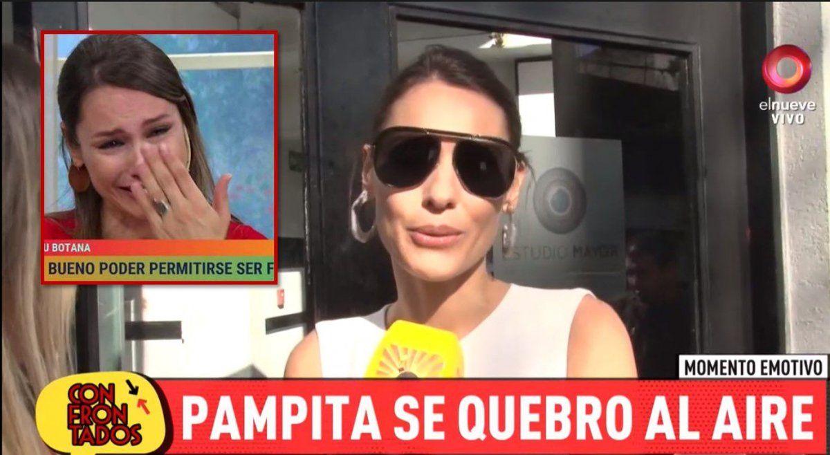 Pampita habló de cómo se sintió después del emocionante encuentro con Maru Botana