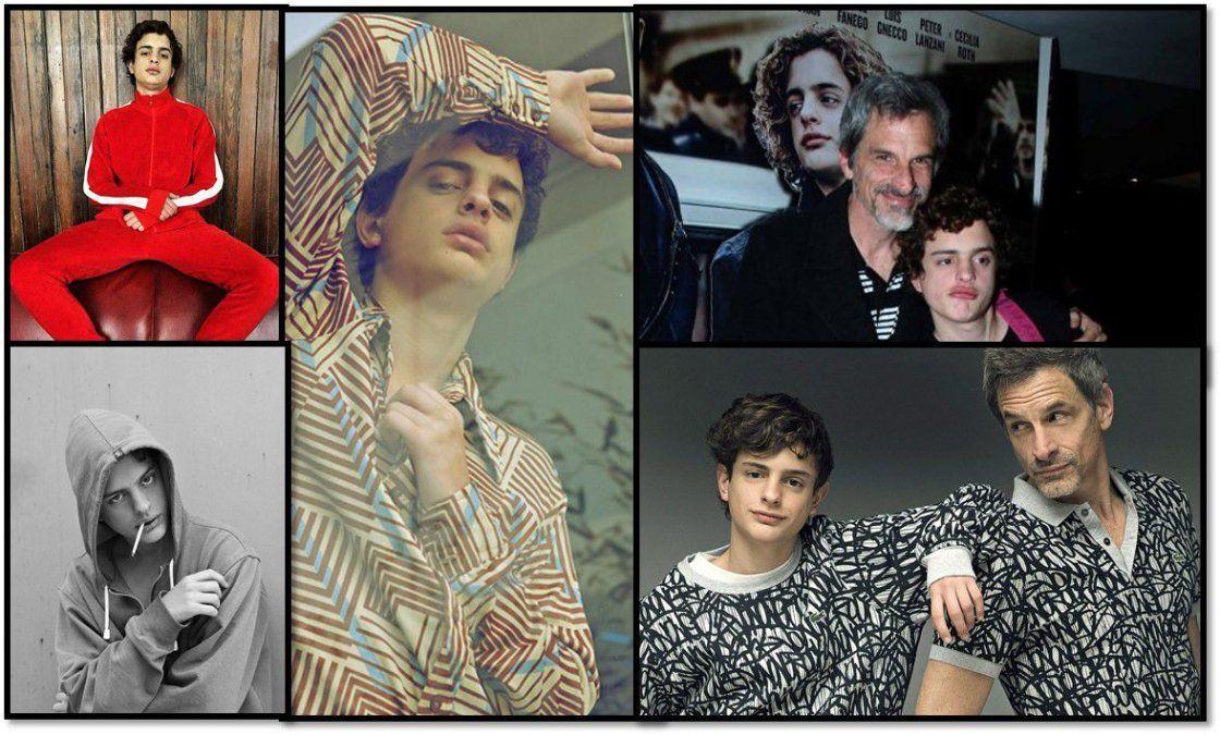 Toto Ferro, el protagonista de El Ángel, es el hijo de un famoso actor y seduce a todos