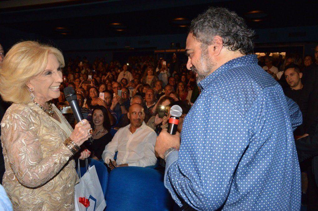 Mirtha Legrand fue al teatro a ver a Moldavsky: Es super recomendable