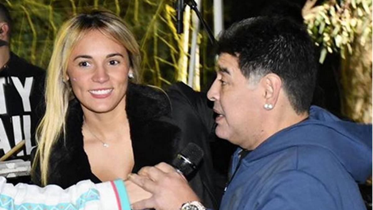 Rocío Oliva recibía dinero de Diego Maradona hasta que murió