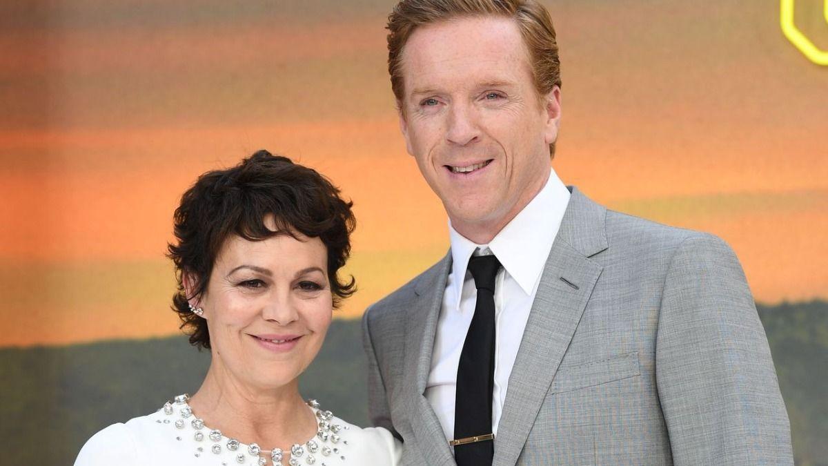 La actriz Helen McCrory junto a su esposo Damian Lewis
