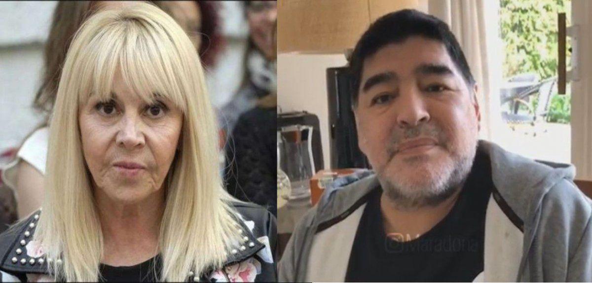 Maradona, furioso contra Claudia Villafañe quiere recuperar sus camisetas: Si no nos dejan entrar, vamos con un cerrajero y abrimos la puerta