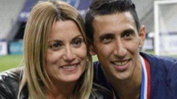 La mujer de Ángel Di María anticipó el gol de su marido