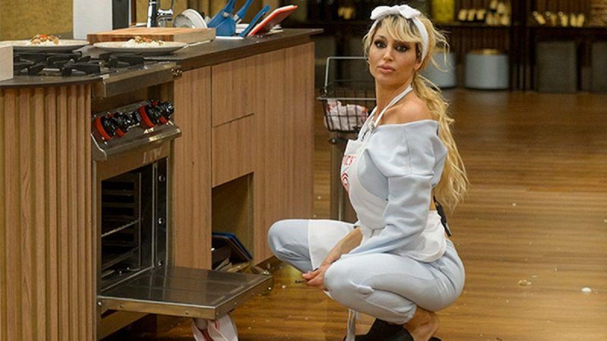 Vicky Xipolitakis debutó y generó polémicas en el MasterChef Celebrity