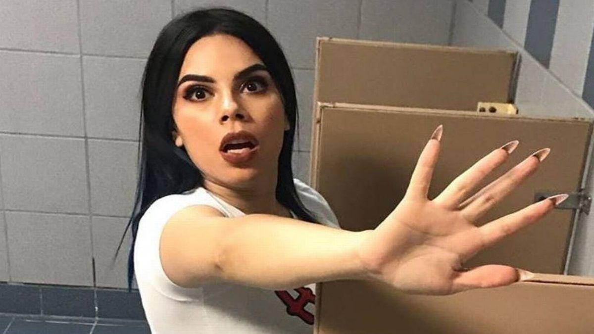 A Lizbeth Rodríguez se le salió lo tóxica en un video con su novio
