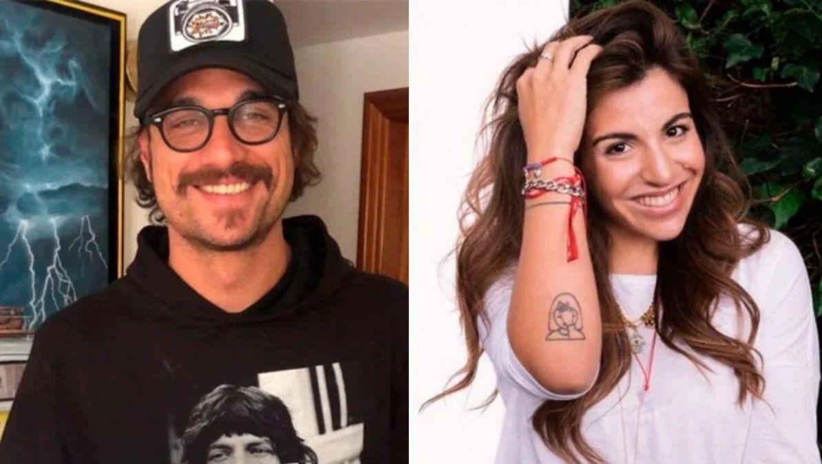Gianinna Maradona y Daniel Osvaldo no llevaron a sus hijos al viaje por el sur