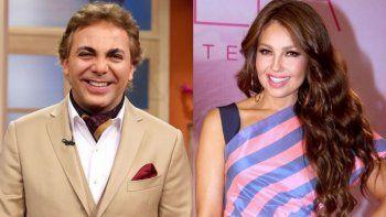 ¡La sorpresa! Thalía y Cristian Castro tuvieron un romance