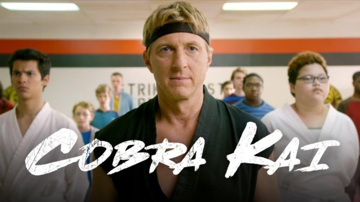 Cobra Kai es una serie secuela de la popular cinta Karate Kid