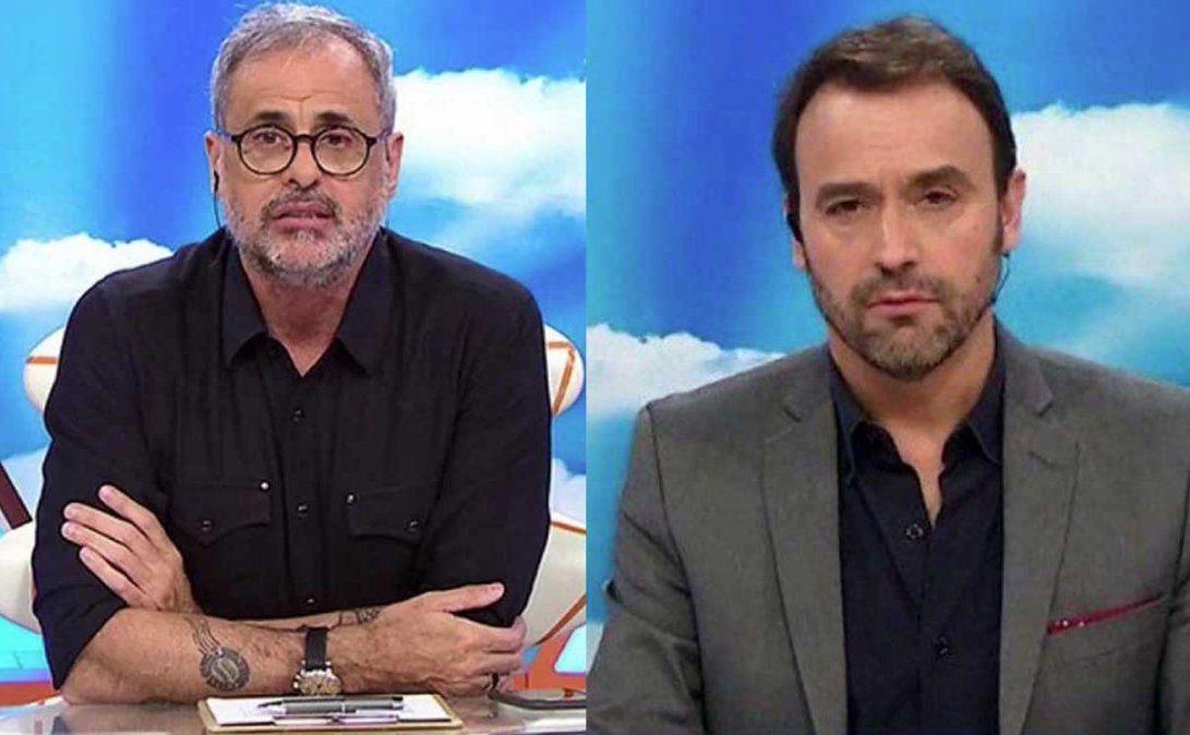 VIDEO: Duro cruce entre Adrián Pallares y Jorge Rial