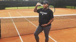 ¡Indetenible! Serena Williams y su forma intensa de entrenar