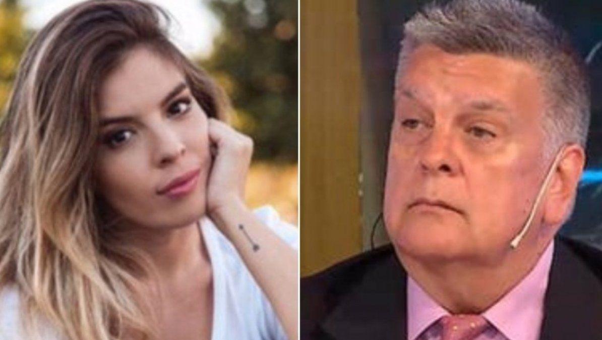 El filoso tweet de Dalma Maradona luego de que Luis Ventura anunciara la falsa muerte de Cacho Fontana