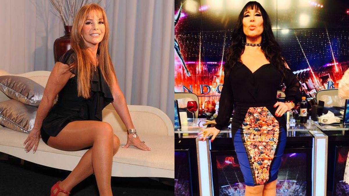 Moria Casán habló de la operación que se aplicó Graciela Alfano