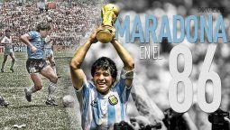 Diego Maradona y su mejor gol