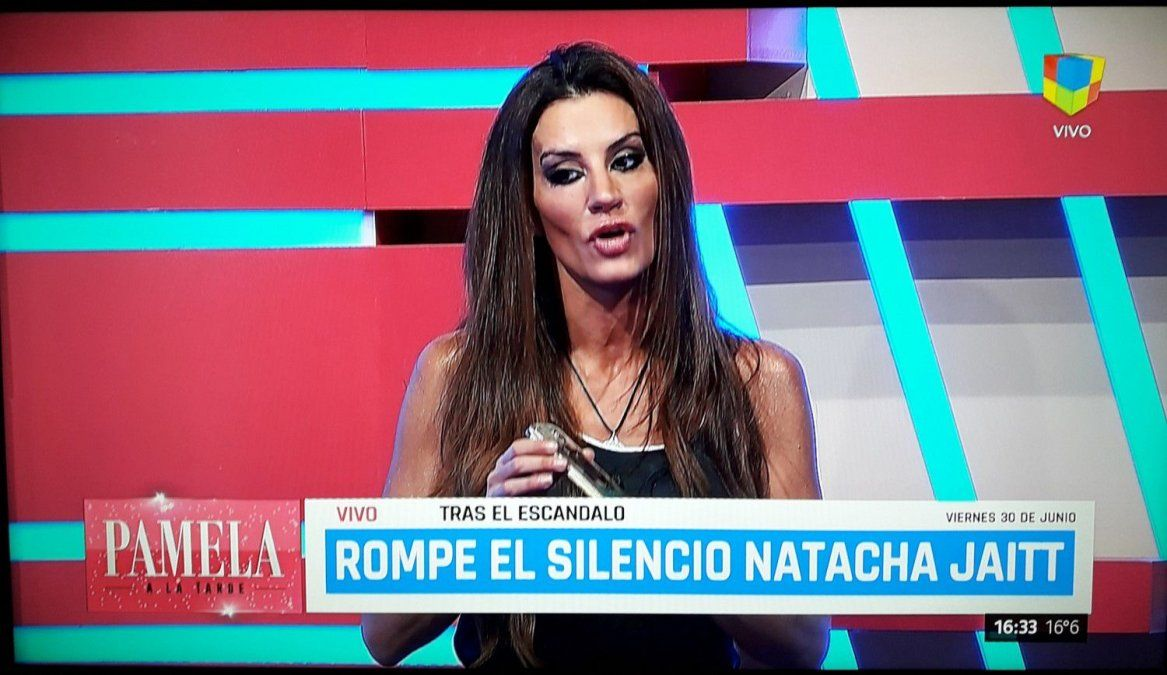 Natacha Jaitt finalmente fue a la televisión a escrachar a Latorre: Me molesto que al otro día no me diga nada. Y ahí dije Me Cog.. un pelotudo
