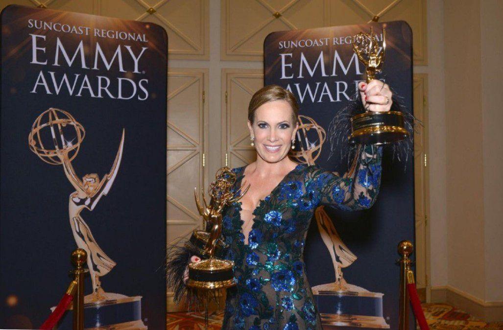 Luego de un año exitoso, Natalia Denegri fue galardonada a los Premios Emmy con 13 nominaciones