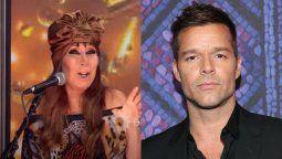 Moria Casán y Nacha Guevara catalogaron de sucio y antipático a Ricky Martin