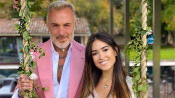 Gianluca Vacchi y Sharon Fonseca dieron la bienvenida a su primera hija