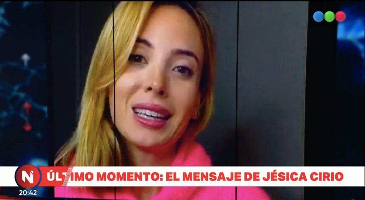 Habló Jésica Cirio: Va a salir todo bien