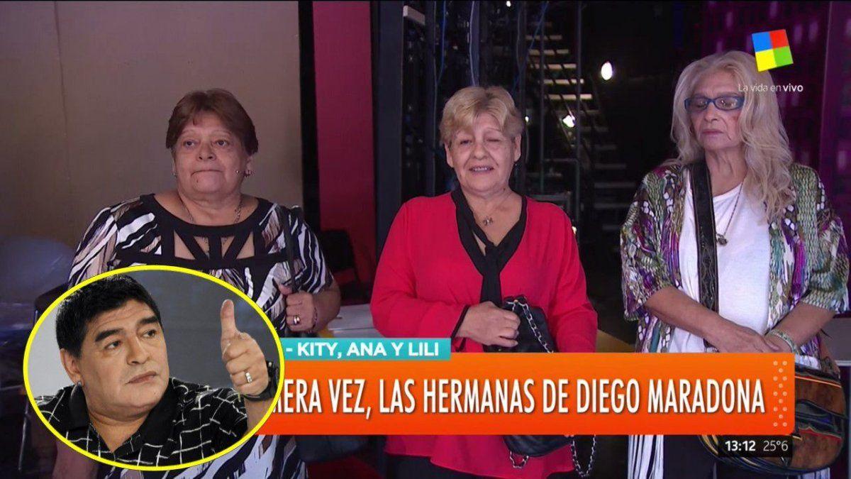 Aparecieron las hermanas de Maradona y destrozaron a Claudia, Dalma y Giannina: Acusaciones y versiones durísimas sobre la familia