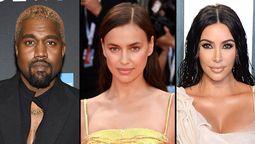 Kanye West cambió a Kim Kardashian por la modelo Irina Shayk