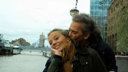 El cantante Jairo junto a su esposa Teresa Sainz fallecida hoy