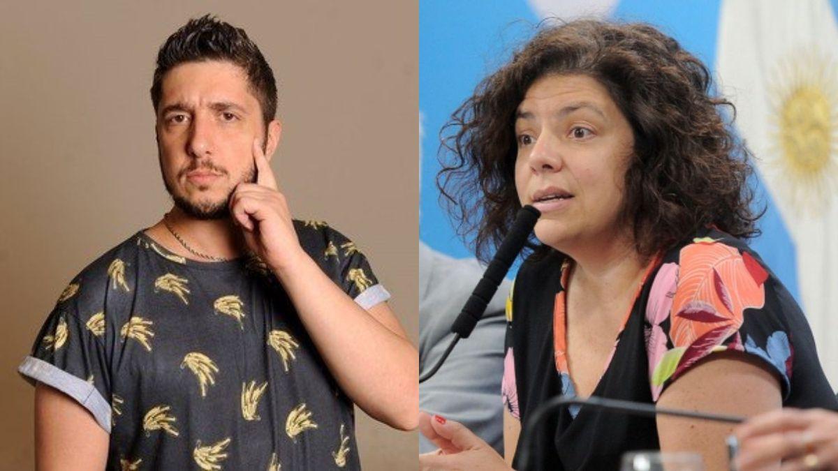 Carla Vizzotti le pidió a los famosos que se vacunen y Jey Mammon se ofreció ¿se pondrá la rusa?