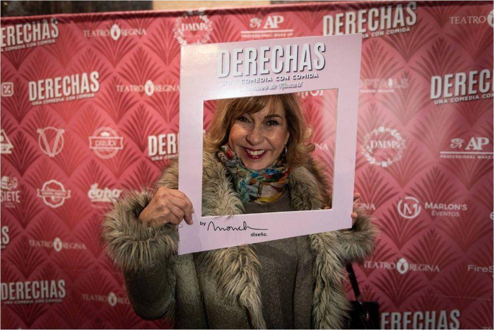 José María Muscari estrenó Derechas su nueva comedia, con una sala llena de famosos