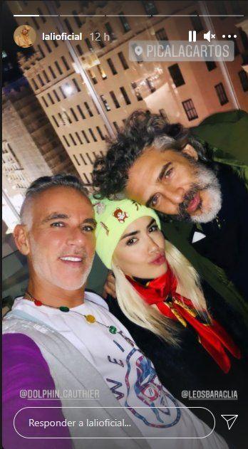 Esta es la selfie que Lali Espósito se tomó junto a Pabli