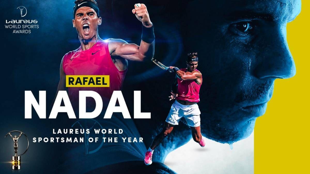 ¡Premiado! Rafa Nadal se llevó el Laureus 2021